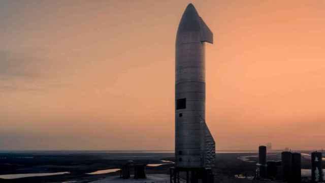Prototipo de la nave Starship