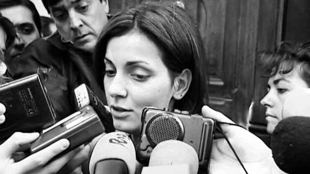 Imágenes de archivo de Nevenka Fernández.