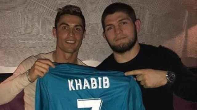 Las imágenes del mundo del deporte: Khabib revela cuál es el mayor miedo de Cristiano Ronaldo