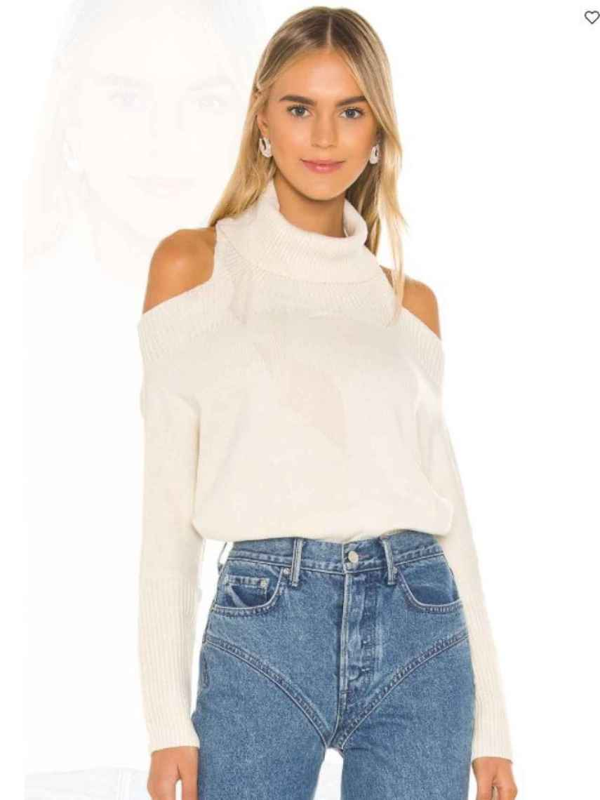 Another of the sweaters 'to get vaccinated' that allows you to choose in which arm you want to receive the dose.