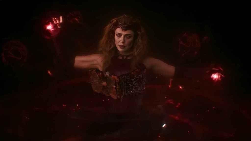 Wanda en la última escena poscréditos de 'Bruja Escarlata y Visión'.