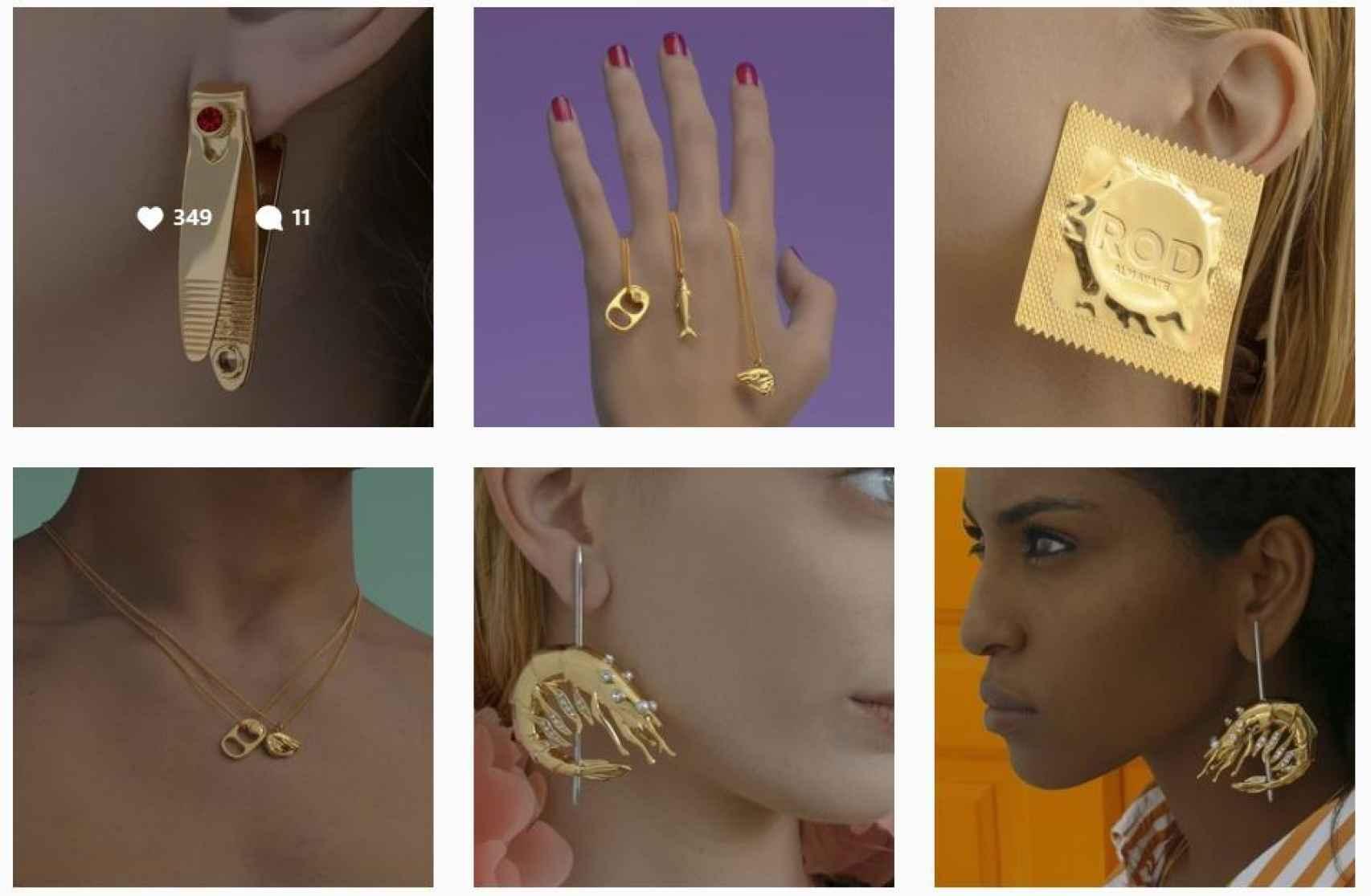 Algunas de las joyas del catálogo de Rod Almayate.