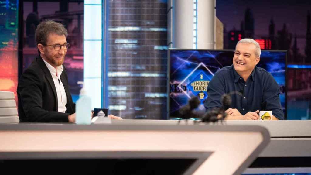 Ramón García, en su entrevista con Pablo Motos en 'El Hormiguero'.