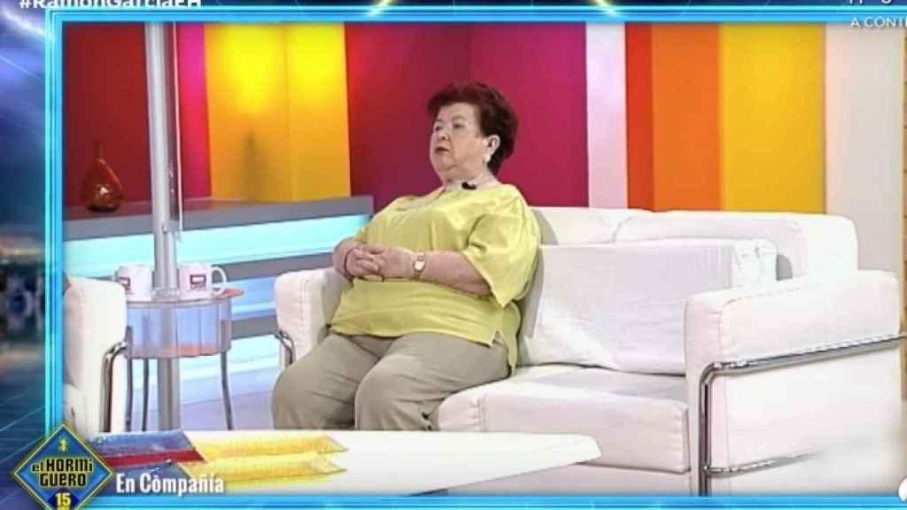 Conchi Motos, en el programa de la cadena pública manchega.
