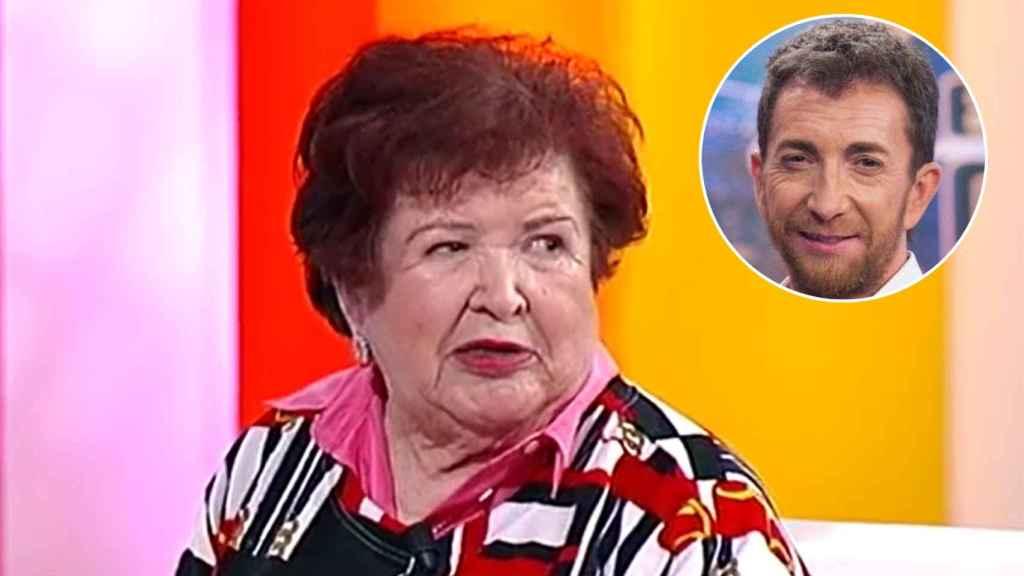 Conchi Motos, la tía paterna del presentador de 'El Hormiguero'.