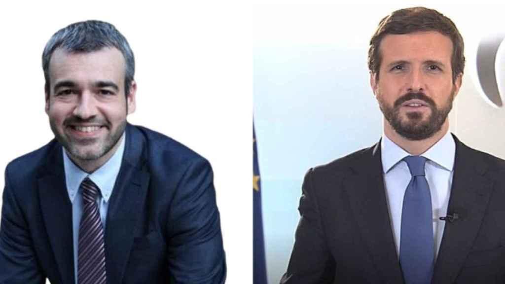 Maurici Lucena y Pablo Casado.