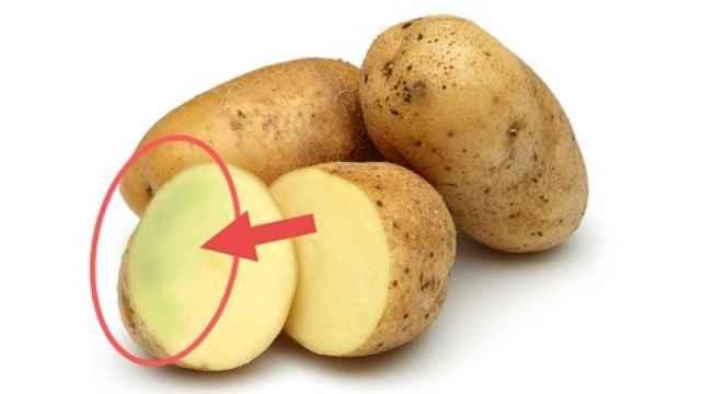 La solanina es un glicoalcaloide que aparece en las patatas.