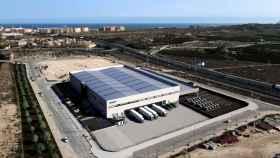 Estación logística de Alicante que empezará a funcionar este verano.