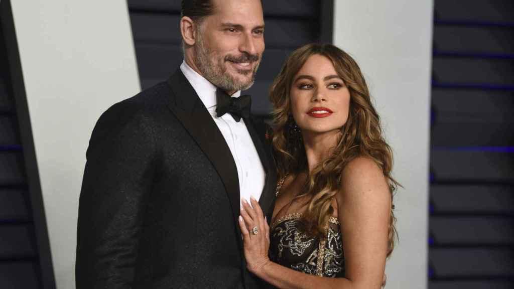 Sofía Vergara and her current partner, Joe Manganiello.