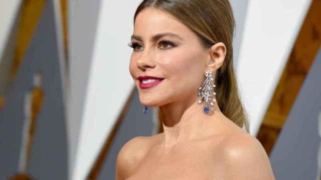 Sofía Vergara, durante los premios Oscar 2016.