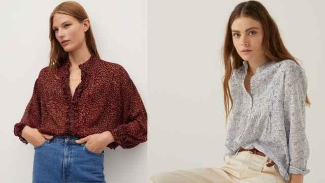 Las blusas estampadas 'low cost' que combinan con todo y que vas a llevar esta primavera