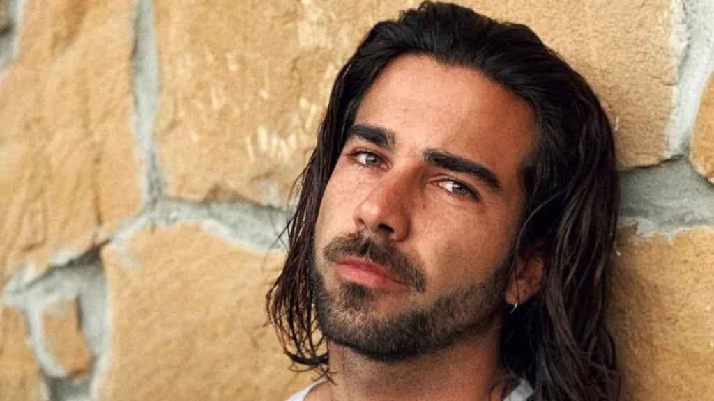 Bosco, el hermano de Lara Álvarez, en una imagen compartida en su perfil de Instagram.