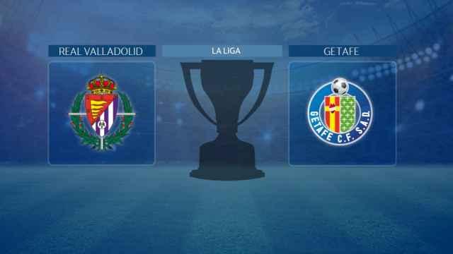 Real Valladolid - Getafe, partido de La Liga