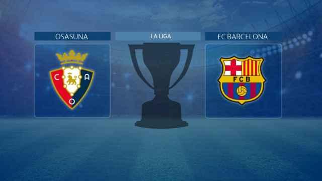 Osasuna - FC Barcelona: siga en directo el partido de La Liga
