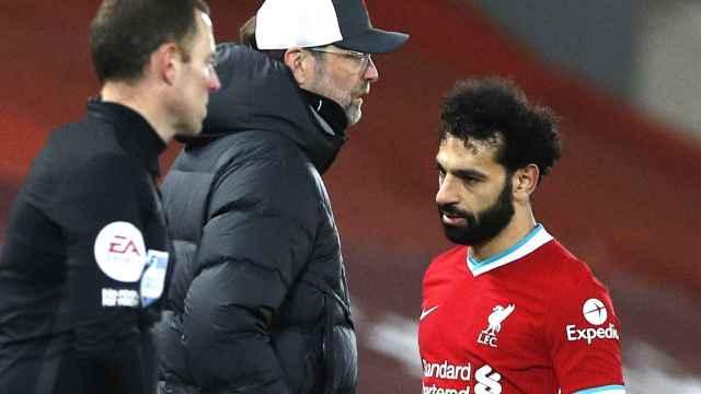 Klopp y Salah se encuentra en un cambio