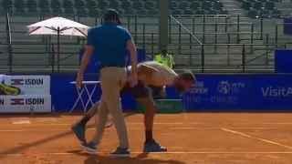 Paire avergüenza al mundo del tenis con su último show