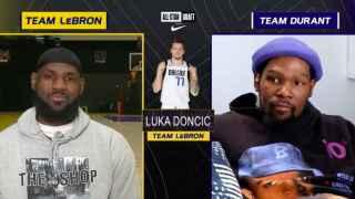 LeBron James vuelve a elegir a Doncic para el All Star