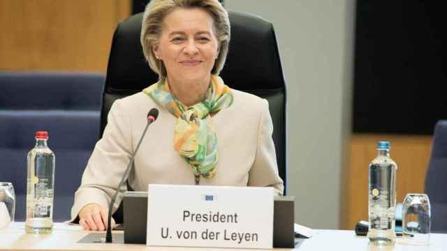 La presidenta de la Comisión, Ursula von der Leyen