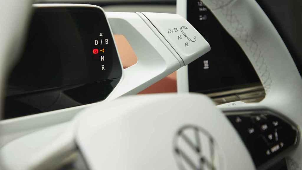 Imagen del interior del Volkswagen ID.3.
