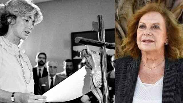 Amparo Rubiales, histórica feminista del PSOE.
