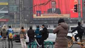 El primer ministro chino, Li Keqiang, este viernes durante su discurso transmitido en Pekín.