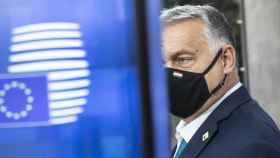 El primer ministro húngaro, Viktor Orbán, durante una reunión del Consejo Europeo