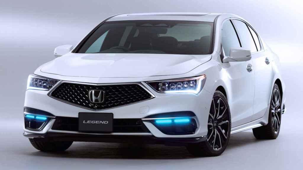 El Honda Legend es el primer coche comercial con autonomía de nivel 3