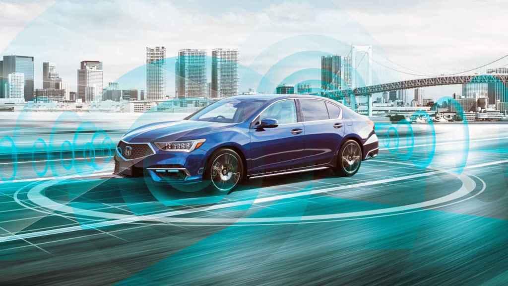 El nuevo Honda Legend es capaz de registrar el entorno y tomar decisiones