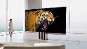 Así es C-Seed M1, un televisor microLED de 165 pulgadas que se pliega.