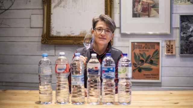 Las seis aguas minerales naturales probadas por Mar, directora de la Escuela Europea de Cata.