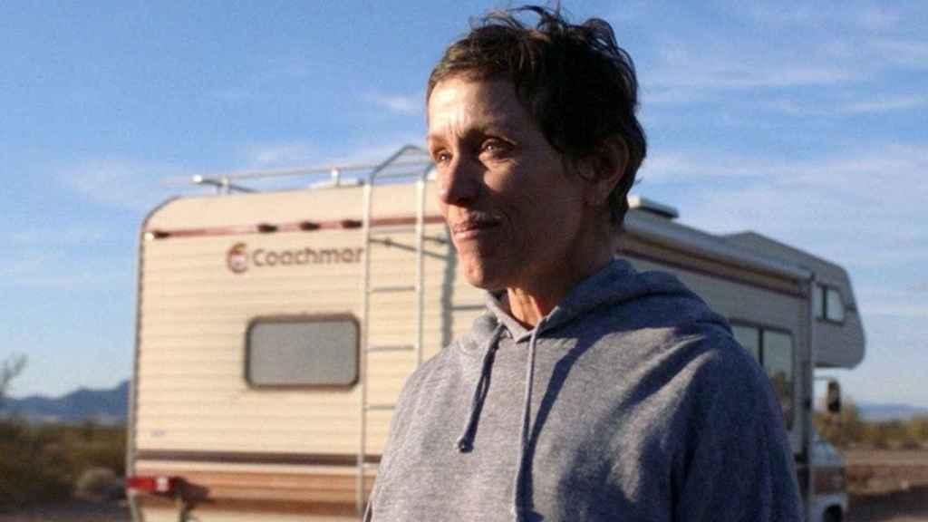 Frances McDormand protagoniza 'Nomadland'.