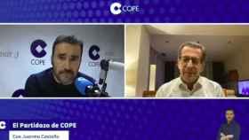 Juanma Castaño durante su entrevista a Toni Freixa.