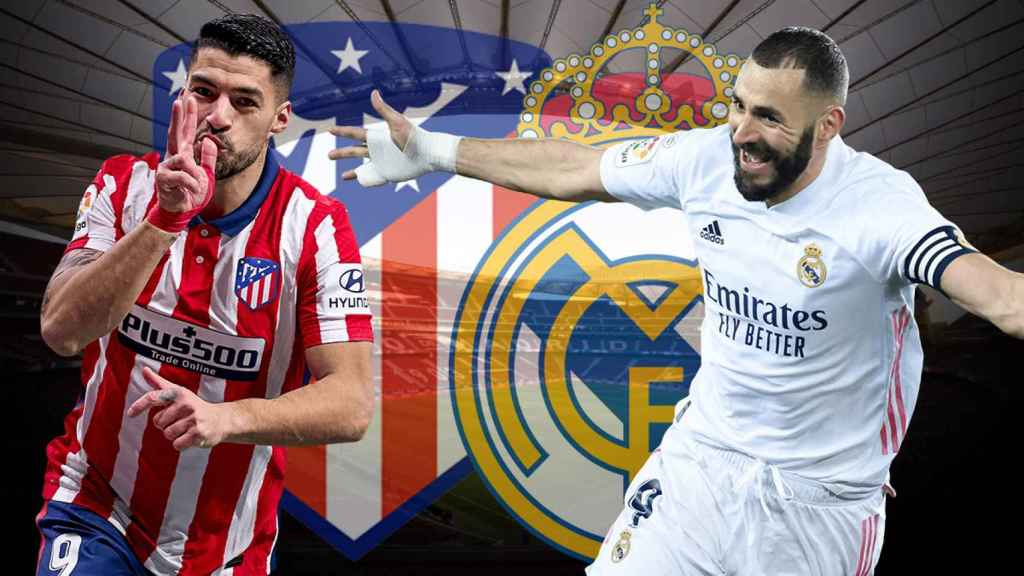Previa Atlético de Madrid - Real Madrid