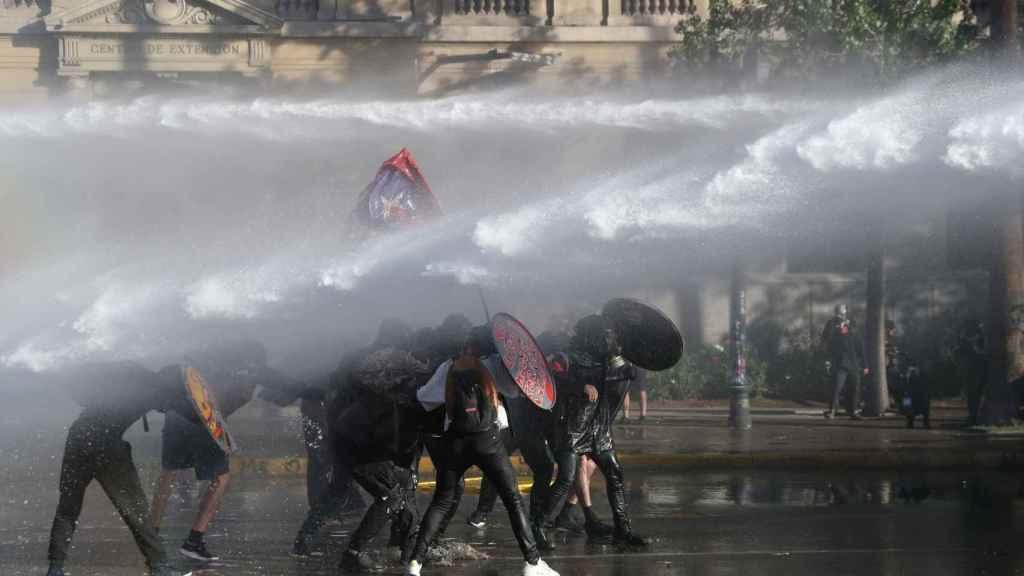 Protesta en Chile.