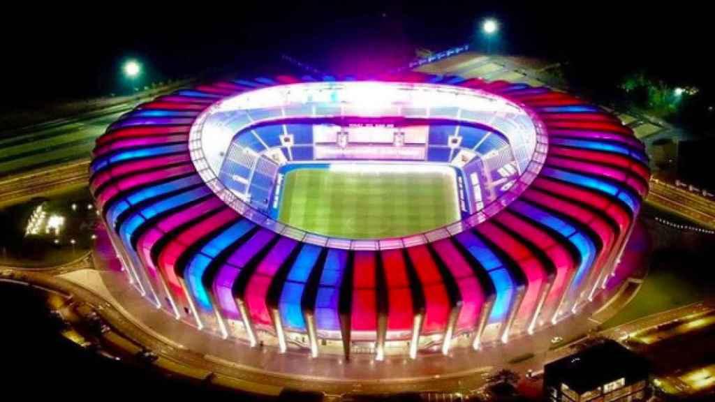 El nuevo estadio del Johor DT