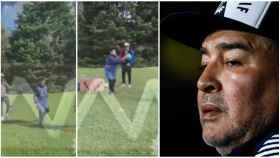 El vídeo inédito de Maradona antes de morir
