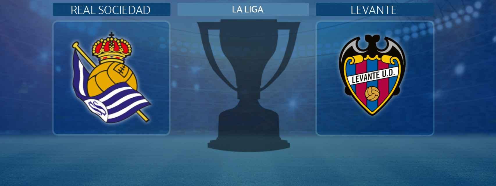Real Sociedad - Levante, partido de La Liga