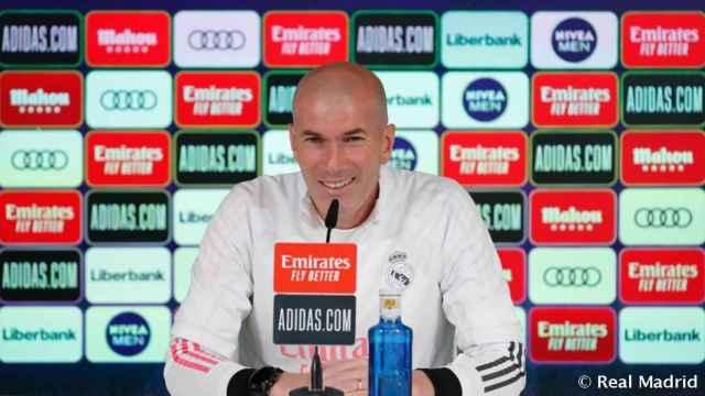 En directo | Rueda de prensa de Zidane previa al At. Madrid - Real Madrid, el derbi de La Liga