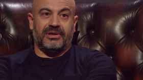 Gianluigi Paragone en el programa italiano 'La confessione'.