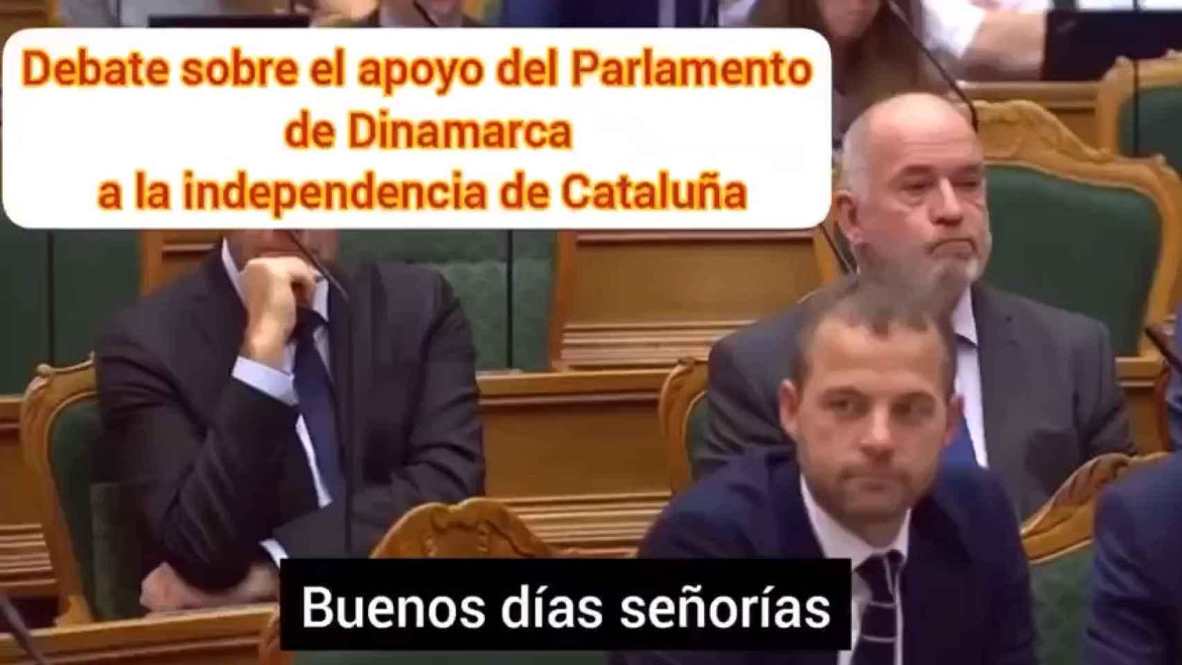 No, el Parlamento de Dinamarca no se está riendo de Cataluña