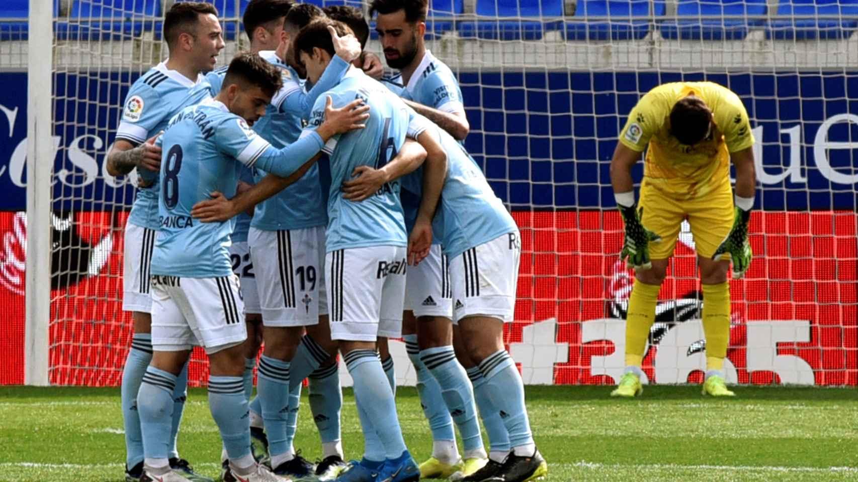 SD Huesca 3-4 Celta de Vigo: El Celta sale ganador de la locura goleadora  del Alcoraz ante un Huesca que vuelve a hundirse