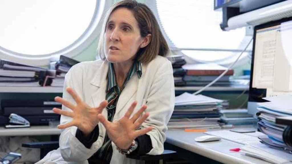 La investigadora Isabel Solá, del CSIC