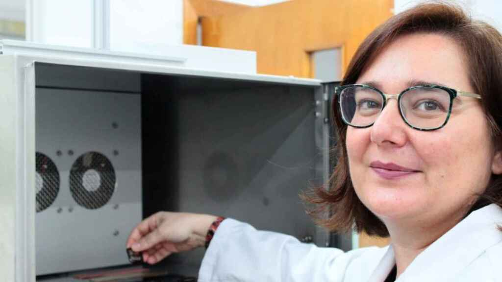 Gloria Lillo, investigadora del proyecto Covidshoe (Inescop)