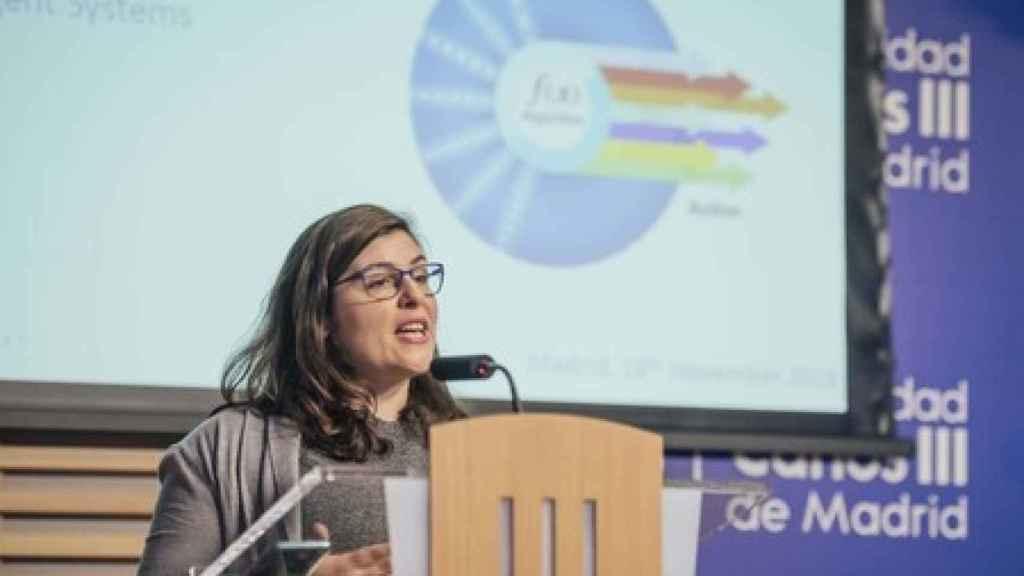 Isabel Valera, investigadora del Instituto Max Planck