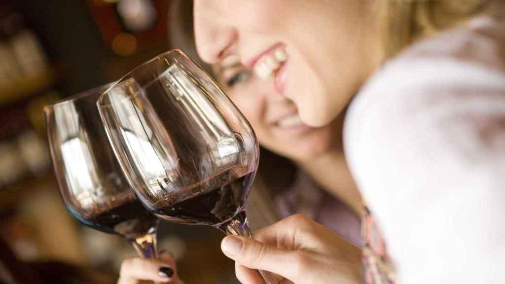 El consumo de vino por parte de las mujeres también ha crecido.