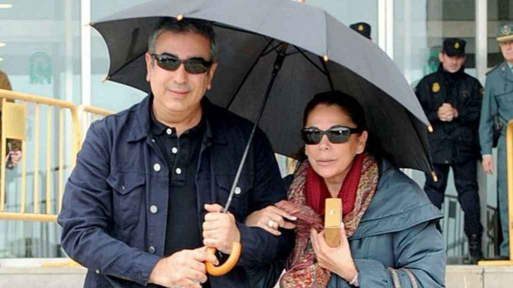 Agustín Pantoja e Isabel Pantoja