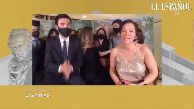 'Las niñas' ganan el Goya a la mejor película