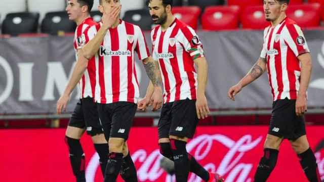 Berenguer celebra el tanto de la victoria ante el Granada