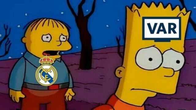 Los memes más divertidos del Derbi entre Atlético y Real Madrid de La Liga