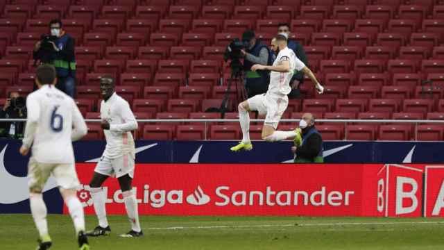 Las mejores imágenes del Derbi entre Atlético y Real Madrid de La Liga
